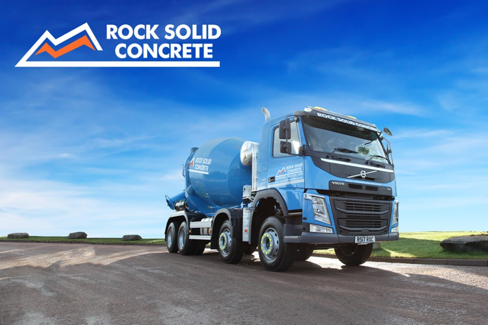 Rock Solid Concrete - Mix On Site & Concrete Delivery in